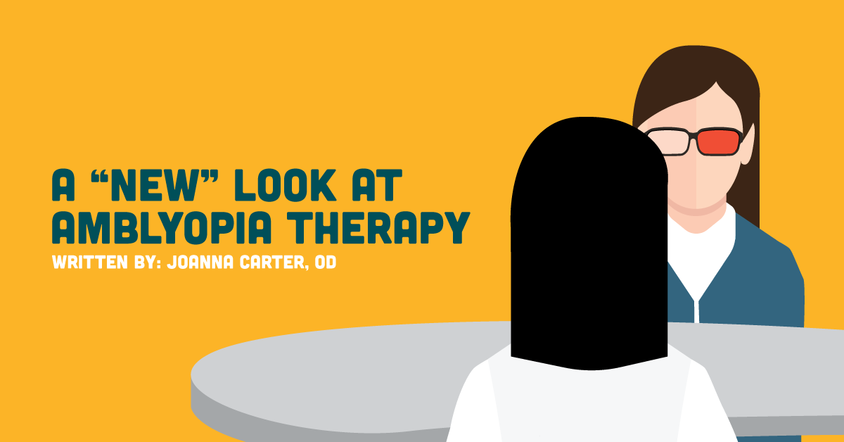 Article link: a new look at amblyopia therapy